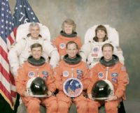 STS-76 Official NASA Crew Portrait